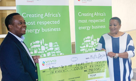 Vivo Energy Namibia boosts COVID-19 Fight with fuel donation