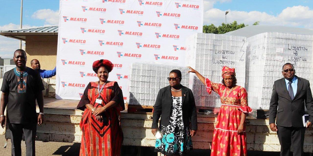 Meatco donates corned beef