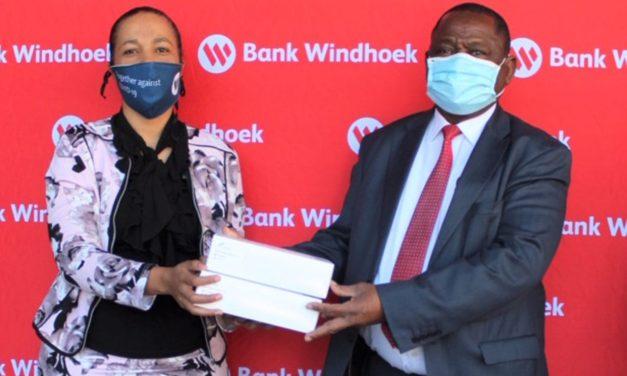 Bank Windhoek donates 500 Reagent Testing Kits