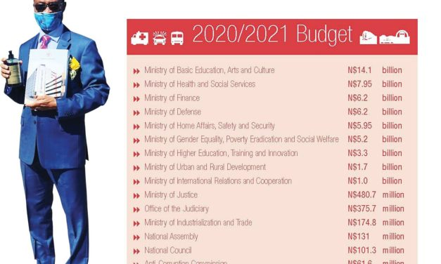 Shiimi announces N$64.3 billion budget