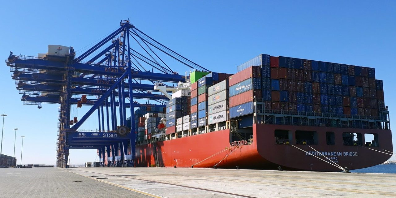 Port of Walvis Bay receives record size vessel