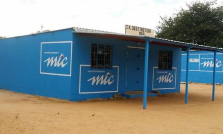 MTC 'Paint Namibia Blue' Project starts
