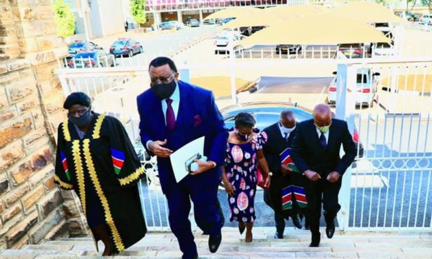 Drama in Parliament as Geingob delivers SONA