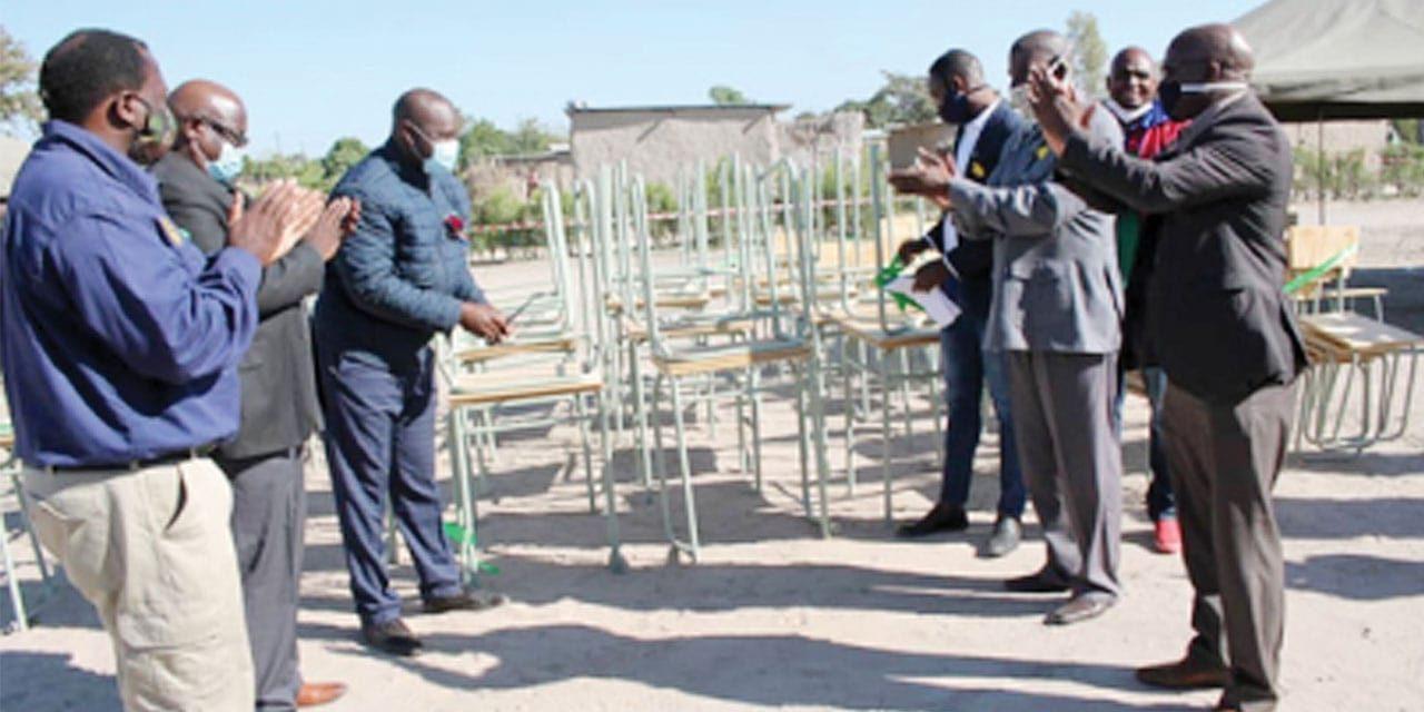 Kalahari Holdings donates school furniture