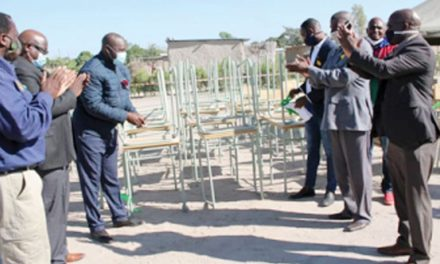 Kalahari Holdings donates school furniture