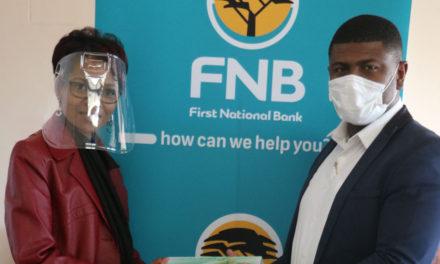 FNB supports Van Rhyn Primary School