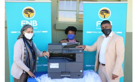 FNB donates equipment to Monte Christo Primary