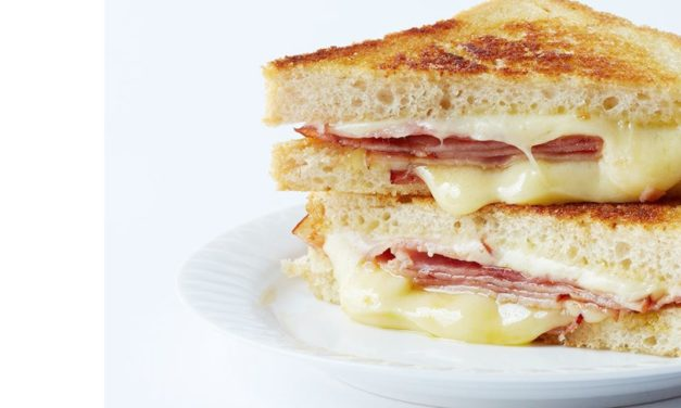 Awesome hot ham and cheese