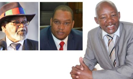 Nujoma caught in crossfire – KK