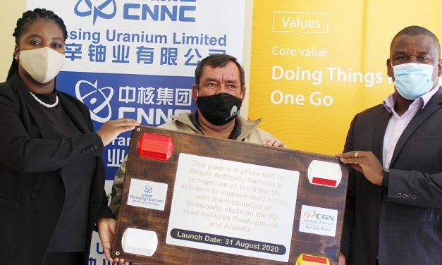 Rössing Uranium, Swakop Uranium support road safety