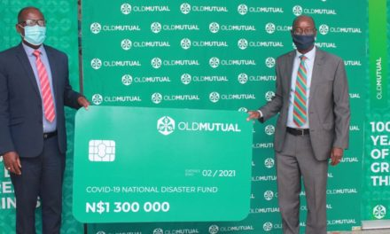 Old Mutual donates N$1.3 million
