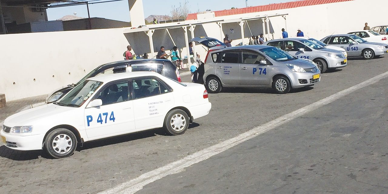 Taxis threaten double charge . . . as fares return to N$12