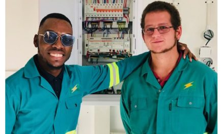Young trainees driving innovation at the NamPower Training Centre