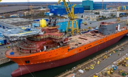 Debmarine Namibia's new vessel launched