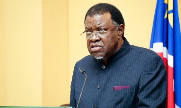 Chaos reigns in Parliament again …as Geingob delivers his state of the nation