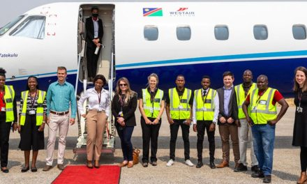 FlyWestair flies to Rundu, Katima Mulilo