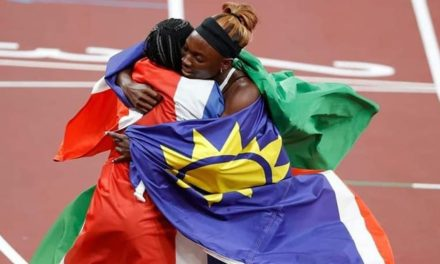 Namibia wins first silver medal since 1996