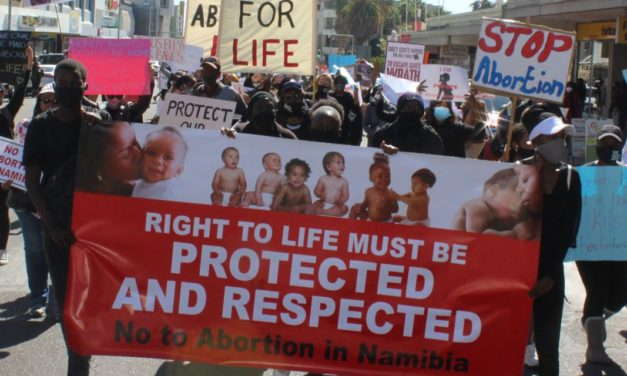 Namibia's pro-life and coalition of churches say NO to innocent 'killings'